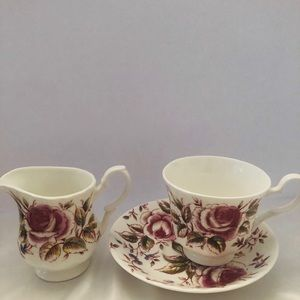 Roy Kirkham English summer rose 3 piece